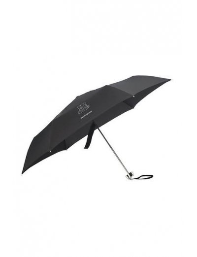 Karissa Umbrellas  3 Sect. Manual Ultra Mini Black - Ladies umbrella