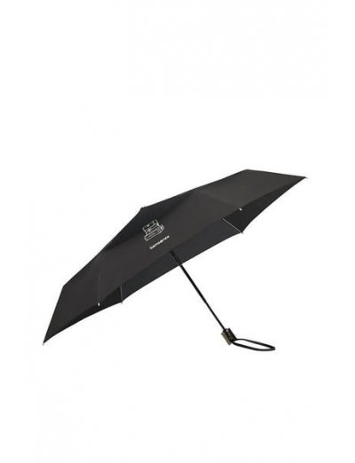 Karissa Umbrellas 3 Sect. Auto O/C Slim Black - Umbrellas