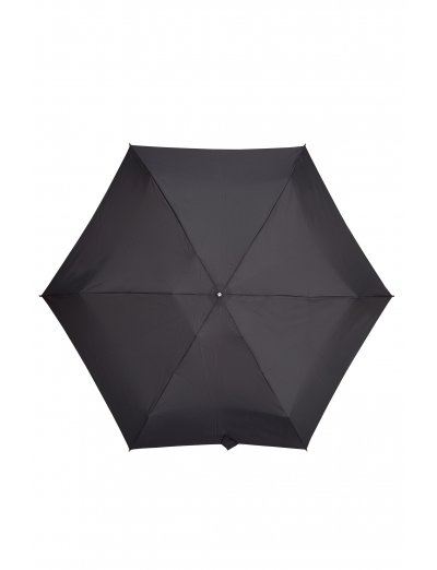 Minipli Colori S  5 Sect. Manual Black - Umbrellas