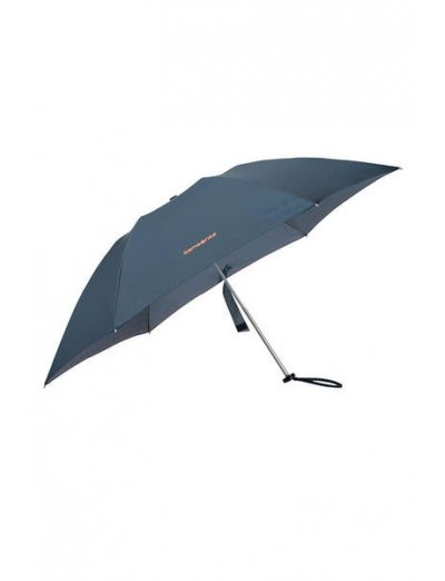 Up Way  3 Sect. Manual Mini Dark Blue/Mandarin Orange - Umbrellas
