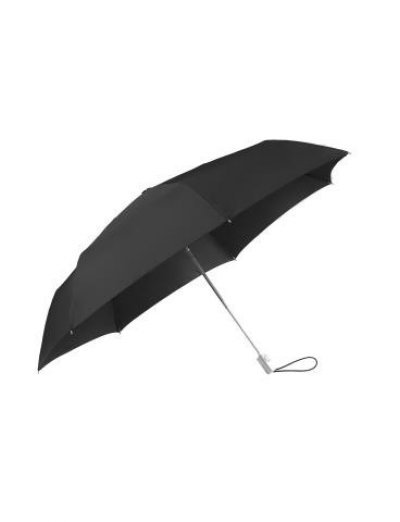 Alu Drop S TM  3 Sect. Auto O/C Black - Ladies umbrella