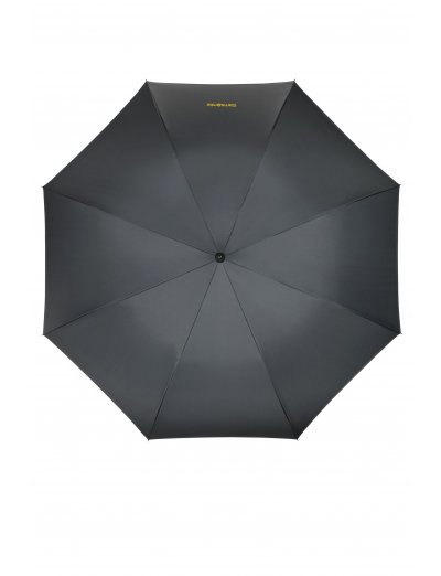 Up Way Stick Umbrella Asphalt Grey/Yellow - Umbrellas