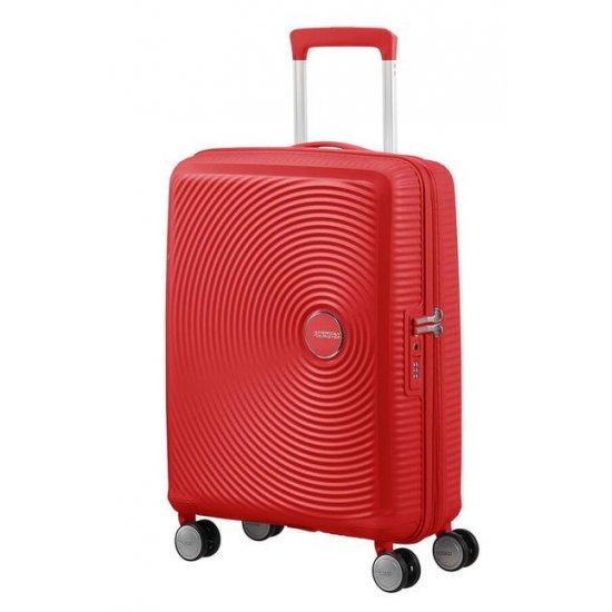 Soundbox Spinner (4 wheels) 55cm Exp Coral Red