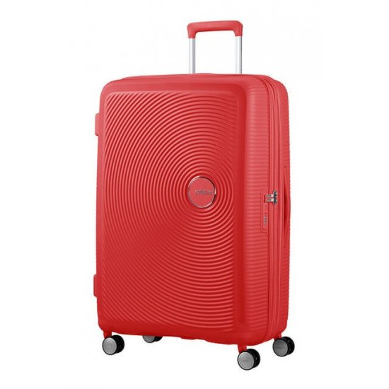 Soundbox Spinner (4 wheels) 77cm Exp Coral Red