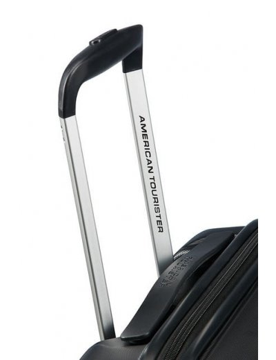 Aero Racer Spinner (4 wheels) 55cm  Jet Black - Hardside suitcases