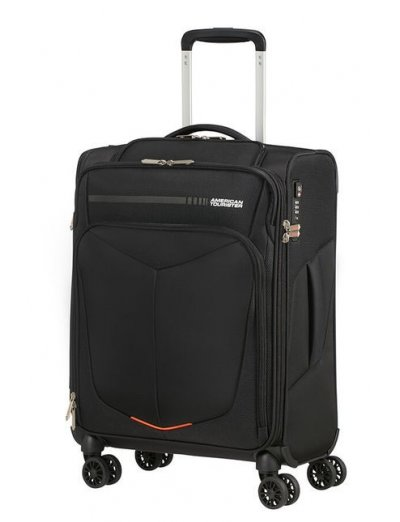 Summerfunk Spinner (4 wheels) 55cm Black - Softside suitcases