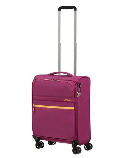 MatchUP Spinner (4 wheels) 55cm Deep Pink - Softside suitcases