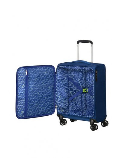 MatchUP Spinner (4 wheels) 55cm Neon Blue - Softside suitcases