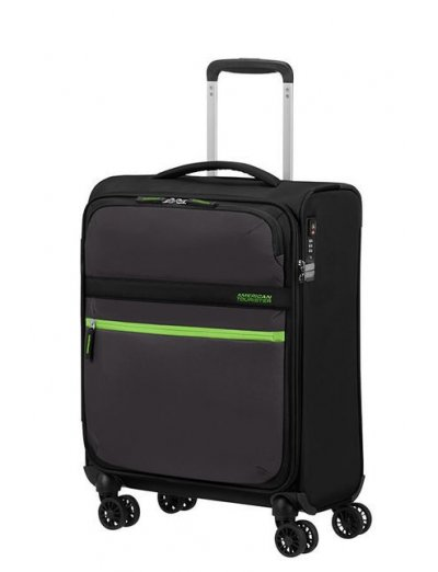 MatchUP Spinner (4 wheels) 55cm Volt Black - Softside suitcases