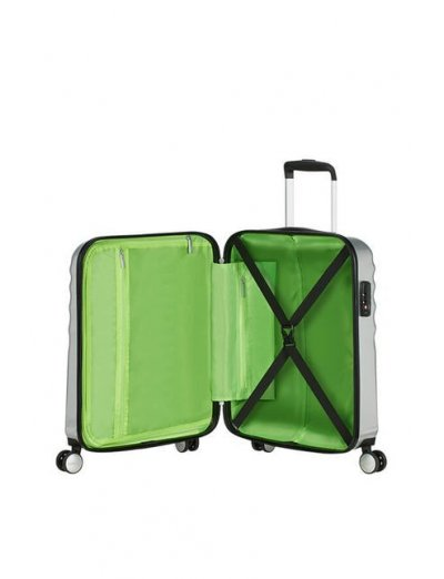 АТ 4-wheel 55cm Spinner suitcase Wavebreaker Kermit Sparkle - Product Comparison