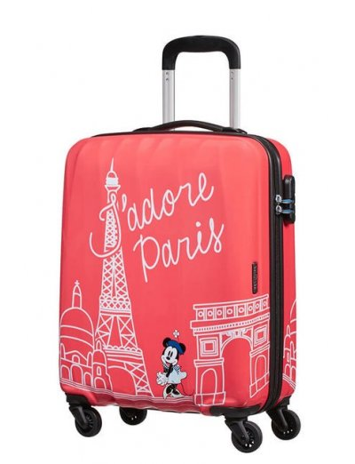 AT Spinner 4 wheels Disney Legends 55 cm Minnie Paris - Kids' suitcases