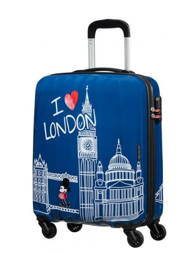 AT Spinner 4 wheels Disney Legends 55 cm Mickey London - Kids' suitcases