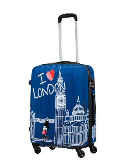 AT Spinner 4 wheels Disney Legends 65 cm Mickey London - Product Comparison