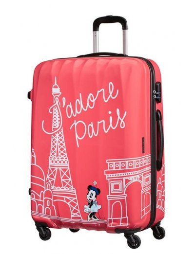 AT Spinner 4 wheels Disney Legends 75 cm Minnie Paris - Product Comparison
