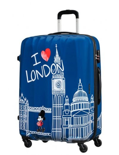 AT Spinner 4 wheels Disney Legends 75 cm Mickey London - Kids' suitcases