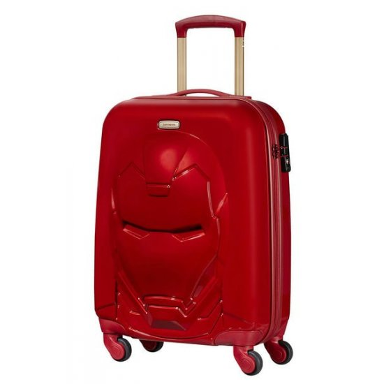 Disney Ultimate 2.0 Spinner (4 wheels) 54.5 cm Iron Man Red