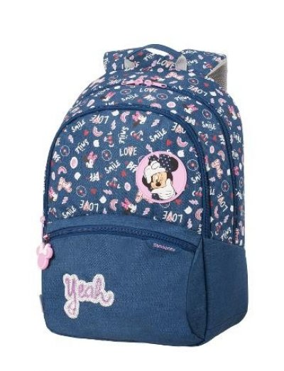 Color Funtime Disney Backpack L Minnie Doodles - Kid's school backpacks 1- 4 grade