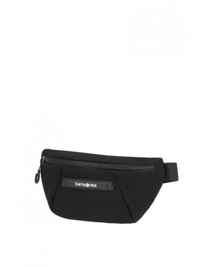 Neoknit Belt bag Black/White - Shoulder and waist bags