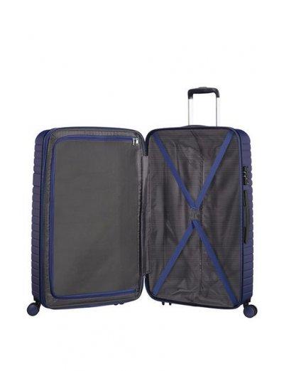 Aero Racer Spinner (4 wheels) 79cm Exp.  Nocturne Blue - Hardside suitcases