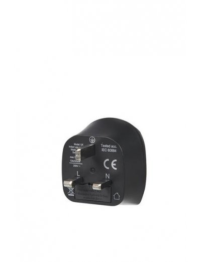 Travel Accessories Europe to UK Grounded - Adapters