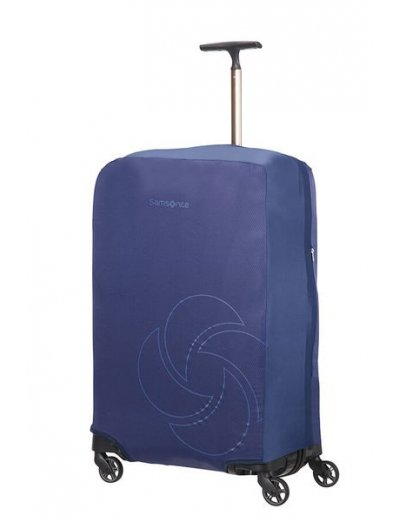 Travel Accessories Luggage Cover M/L - Spinner 75cm - Luggage cover including address labels