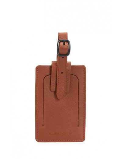 Travel Accessories ID Leather Luggage Tag - Luggage cover including address labels