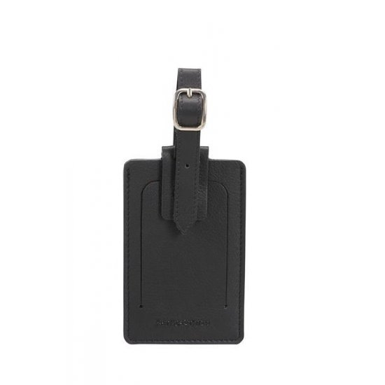 Travel Accessories ID Leather Luggage Tag