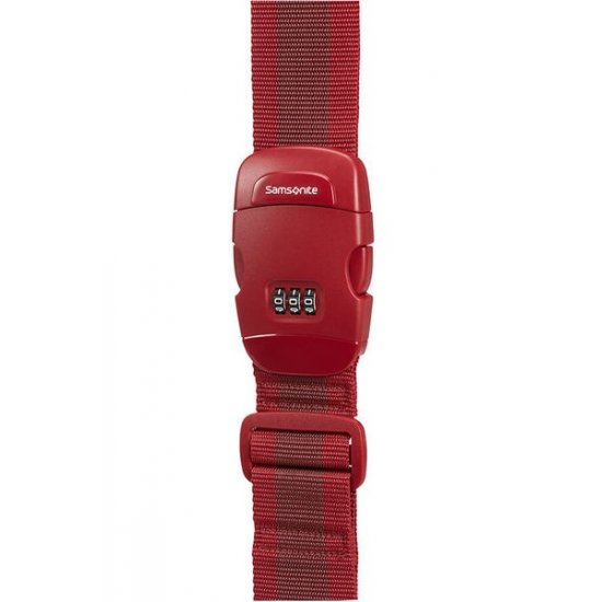 Safe Luggage Strap with 3 Combi Lock