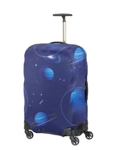 Travel Accessories Luggage Cover M/L - Spinner 69cm - Luggage cover including address labels