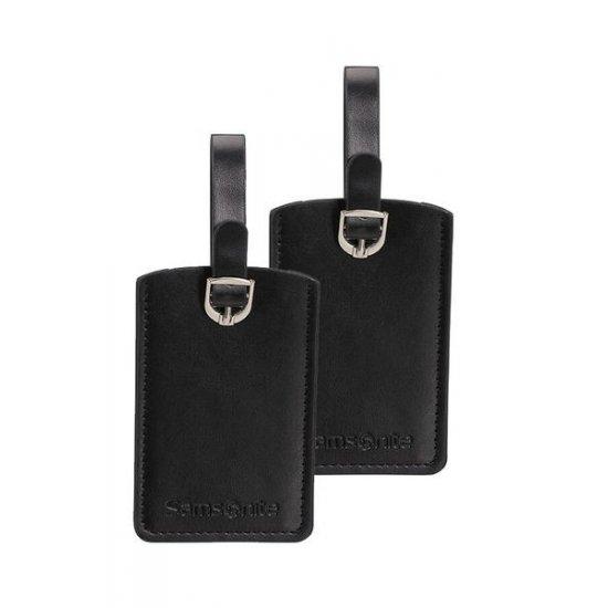 Travel Accessories ID Leather Luggage Tag Х2