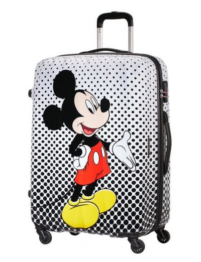 AT Spinner 4 wheels Disney Legends 75 cm Mickey Mouse Polka Dot - Disney Legends