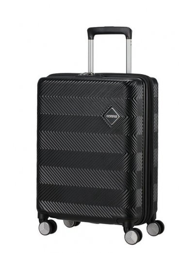 Flylife Spinner (4 wheels) 55cm Black - Hand luggage/cabin