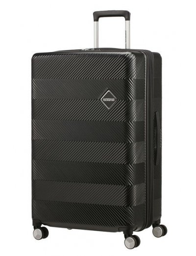 Flylife Spinner (4 wheels) 77cm Black - Large suitcases