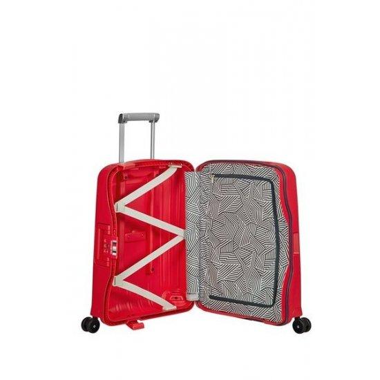 S'Cure Spinner 4 wheels 55 cm CAPRI RED STRIPES