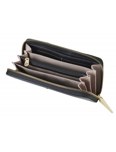 Seraphina 2.0 Slg Wallet L Black/Rose - Ladies' leather wallets