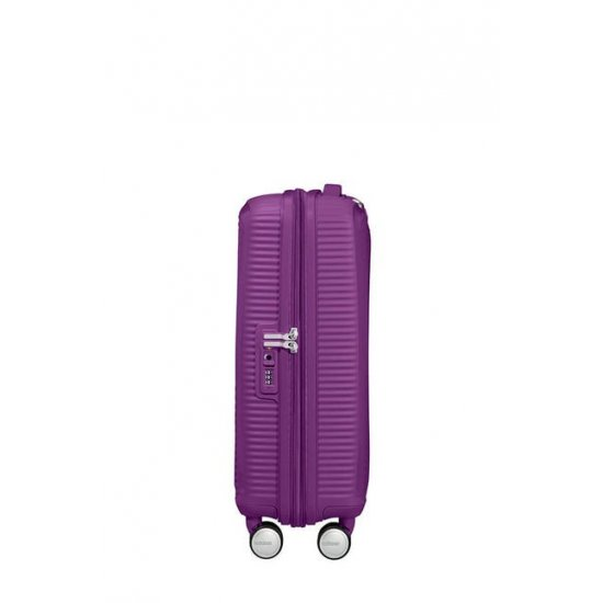 Soundbox Spinner (4 wheels) 55cm Exp Purple Orchid