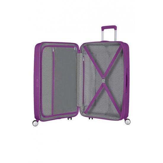 Soundbox Spinner (4 wheels) 77cm Purple Orchid