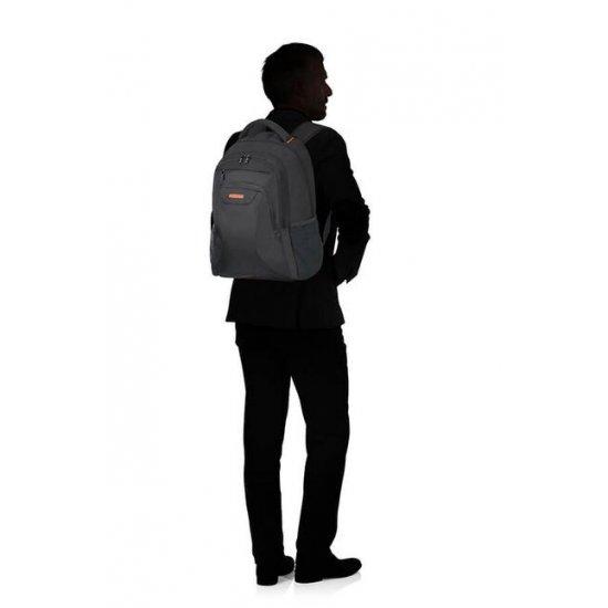 At Work Laptop Backpack 43.9cm/17.3″ Black