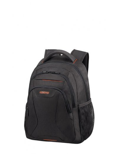 At Work Laptop Backpack 38.5cm/14.1″ Black/Orange - Kids' series