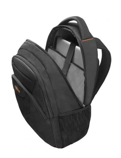 At Work Laptop Backpack 38.5cm/14.1″ Black/Orange - Product Comparison