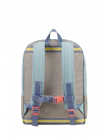 Sam School SpiritBackpack L PREPPY PASTEL BLUE -