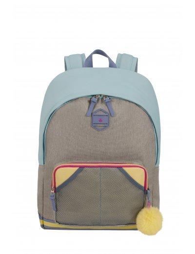 Sam School SpiritBackpack L PREPPY PASTEL BLUE - School backpacks for girls
