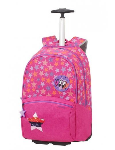 Color Funtime School Trolley  Stars Forever - Kid's school backpacks 1- 4 grade