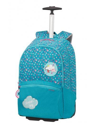 Color Funtime School Trolley  Dreamy Dots - Kid's school backpacks 1- 4 grade