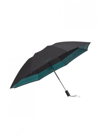 Up Way  3 Sect. Auto O/C Black - Ladies umbrella