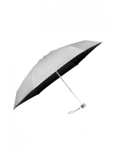 Minipli Colori S  5 Sect. Manual Metallic Silver - Umbrellas