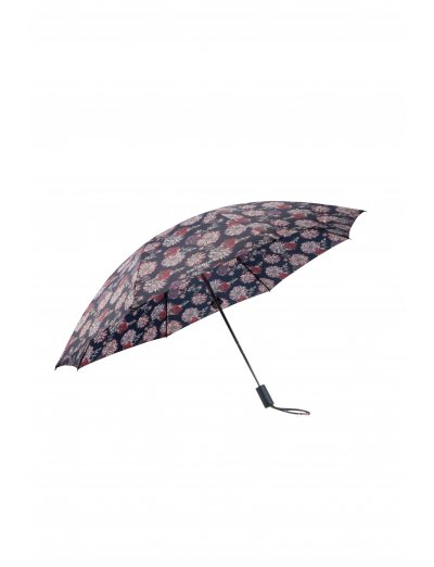 Up Way  3 Sect. Auto O/C Fwoler Print - Ladies umbrella