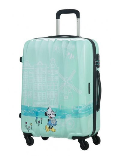 AT Spinner 4 wheels Disney Legends 65 cm Take Me Away Minnie Amsterdam - Kids' suitcases