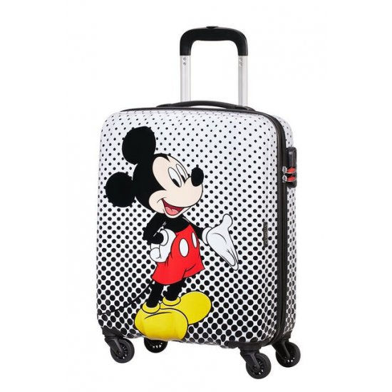 AT Spinner 4 wheels Disney Legends 55 cm Mickey Mouse Polka Dot