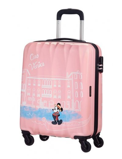 AT Spinner 4 wheels Disney Legends 55 cm Take Me Away Mickey Venice - Product Comparison